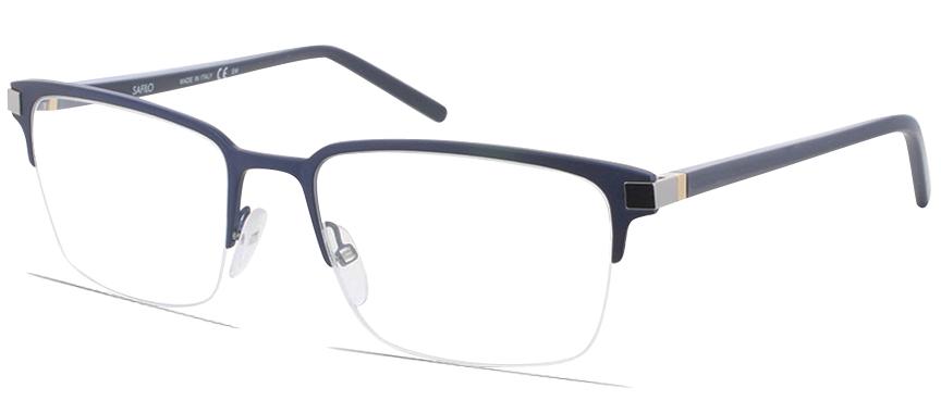 Safilo Elasta SA1033 V7M - semi rimless frames - Prescription Glasses