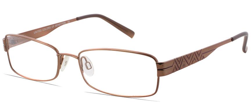 benetton be430 c i4 rimmed frames prescription